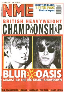NME-covers-Blur-v-Oasis